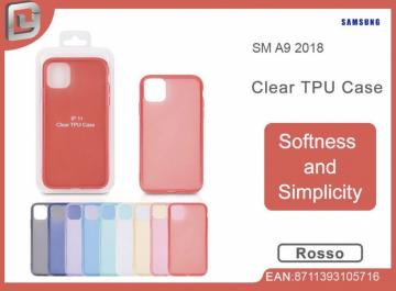 Cover per samsung a9 2018 clear TPU case