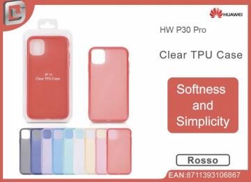Cover per huawei p30 pro clear TPU case