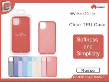 Cover per huawei mate 20 lite  clear TPU case