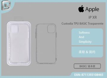 Custodia tpu basic trasparente iphone xr