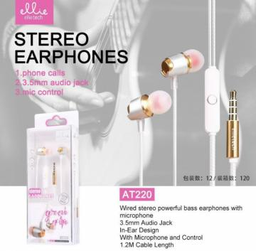 ELLIE AT220 AURICOLARE IN-EAR MIC+VOL
