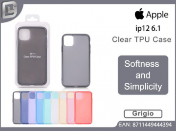 Cover per iphone 12 pro 6.1 clear TPU case