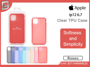 Cover per iphone 12 pro max 6.7 clear TPU case