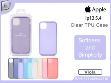 Cover per iphone 12 5.4 clear TPU case