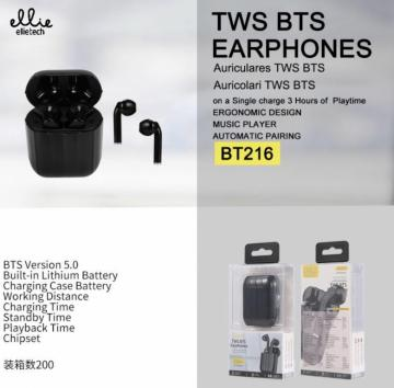 ELLIE BT216 AURICOLARI WIRELESS
