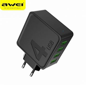 AWEI C-842 Wall Charger carica batteria 4 porte USB