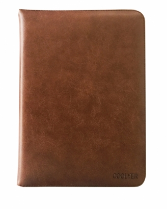 ITA CUSTODIA COVER LIBRO PER IPAD 2/3/4 MARRONE SCURO