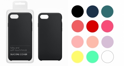 Cover 04 custodia in silicone per Samsung Galaxy A40 colori misti 20pz