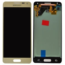 DISPLAY LCD + TOUCHSCREEN DISPLAY COMPLETO SENZA FRAME PER SAMSUNG GALAXY ALPHA G850F ORIGINALE