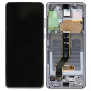 TOUCHSCREEN + DISPLAY LCD DISPLAY COMPLETO + FRAME PER SAMSUNG GALAXY S20 PLUS S20+ G985F G986F ORIGINALE