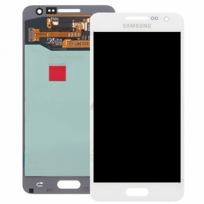Display lcd + touch completo senza frame per Samsung a5 a500f bianco
