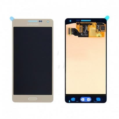 Display lcd + touch completo senza frame per Samsung a5 a500f oro