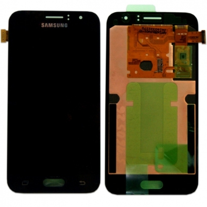 Display lcd + touch completo senza frame per Samsung Galaxy j1 2016 / j120f Nero