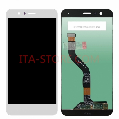 DISPLAY LCD + TOUCHSCREEN DISPLAY COMPLETO SENZA FRAME PER HUAWEI P10 LITE BIANCO