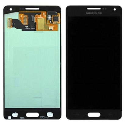 Display lcd + touch completo con frame per Samsung a5 a500f nero gh97-16679b