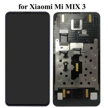 DISPLAY LCD + TOUCHSCREEN DISPLAY COMPLETO + FRAME PER XIAOMI MI MIX 3 ORIGINALE