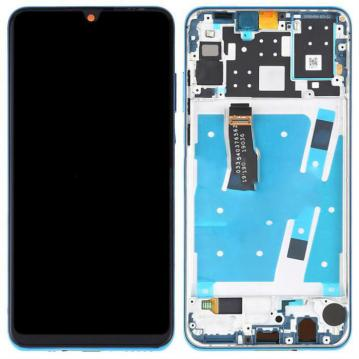 TOUCHSCREEN + DISPLAY LCD DISPLAY COMPLETO + FRAME PER HUAWEI P30 LITE ORIGINALE