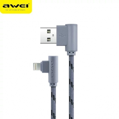 AWEI CL-92 CAVO LIGTHING 2M GRIGGIO