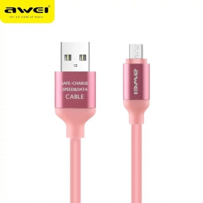 AWEI CL-81 CAVO MICRO USB ROSA