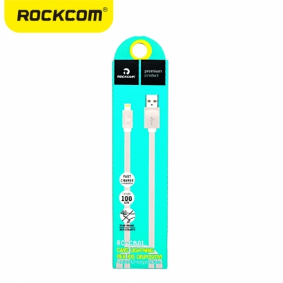 ROCKCOM RC-CB01 CAVO LIGHTING PER IOS DISPOSTIVI BIANCO