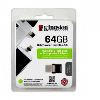 Kingston dtduo 64GB otg flash drive 3.0