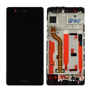 DISPLAY LCD + TOUCHSCREEN DISPLAY COMPLETO + FRAME PER HUAWEI P9 ORIGINALE