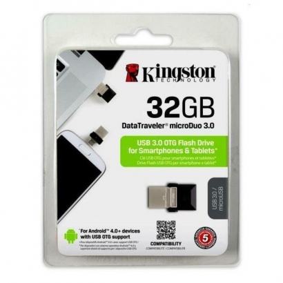 Kingston dtduo 32GB otg flash drive 3.0