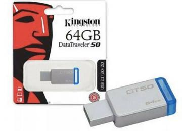 Kingston chiavetta dt50 64GB usb 3.1