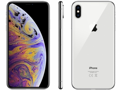 Iphone XS max 512GB argento