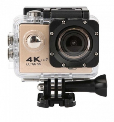 Action cam 4k ultra HD wi-fi 16mp oro
