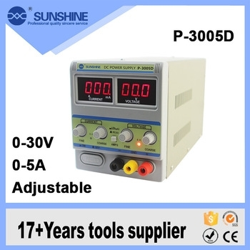 SUNSHINE POWER SUPPLY 3005D